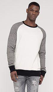 Sweatshirt in cream white