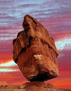 The 100 Most Beautiful and Breathtaking Places in the World in Pictures (part Balanced Rock, Garden of the Gods, Colorado Springs, Co. Beautiful Places In The World, Places Around The World, The Places Youll Go, Places To See, Around The Worlds, Amazing Places, Wonderful Places, All Nature, Amazing Nature