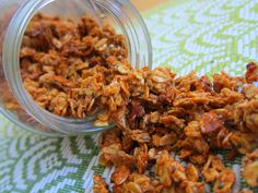 Almond Butter Granola!    #HealthyPage