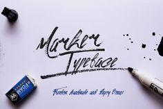 @newkoko2020 Marker Typeface & Bonus (50%off) by Minimal Type Foundry on @creativemarket#font #buy #discount #design #lettering