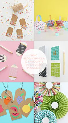 12 FAVOURITE PAPER CRAFTS FROM THE WHC BLOG