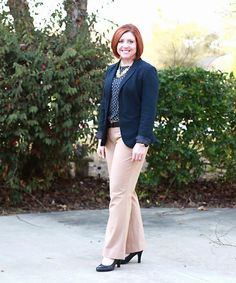 Savvy Southern Chic: Navy and camel