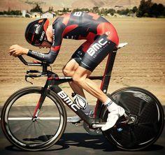 BMC's Michael Schaer at the Tour of California