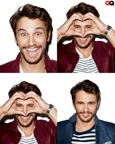 James Franco by Terry Richardson for GQ