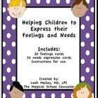These cards will help students who have a difficult time verbalizing their feelings and advocating for themselves. These cute and simple cards can ...