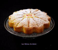 Gâteau moelleux à la rhubarbe et aux amandes 2