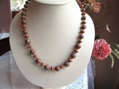 Graduated Necklace of Fimo Polymer Clay by SaraJewelryDesign, $24.99