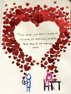 valentines day card diy unique 50 thoughtful handmade valentines cards gopika of valentines day card diy Birthday Cards For Boyfriend, Diy Gifts For Boyfriend, Easy Diy Valentine's Day Cards, Diy Cards, Diy Love Cards For Him, Diy Valentines Cards, Valentine Gifts, Handmade Birthday Cards, Diy Birthday