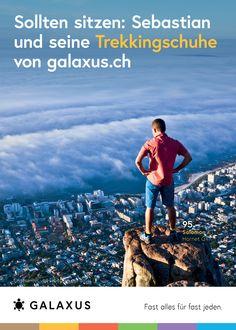 Sollten sitzen: Sebastian und seine Trekkingschuhe von galaxus.ch #GalaxusLive #Galaxus