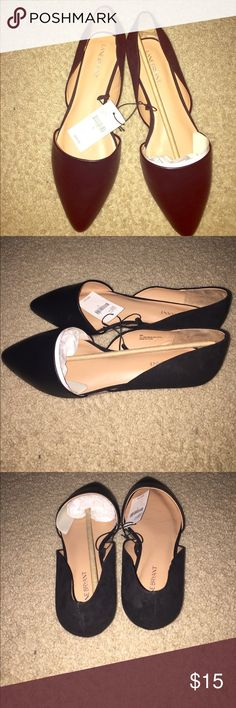 Lane Bryant D'ORSAY MINI WEDGE FLAT Lane Bryant - This d'orsay (fashion speak for that two-piece construction) flat is the perfect way to ease into fall. The mini wedge gives it just a bit of lift. Lane Bryant Shoes Flats & Loafers