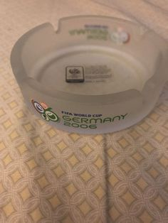 2006 FIFA World Cup Soccer Germany Continental Oficial Ashtray  | eBay