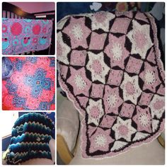 Custom Baby Blanket - Handmade Crochet baby afghan made to order - provide a pattern or design your own! Get the parents-to-be in your life a truly unique and long-lasting shower or Christmas gift! https://www.etsy.com/listing/211248040/custom-baby-blanket-handmade-crochet