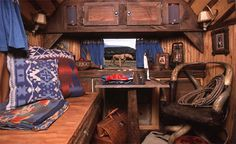 Airstream Ralph Lauren Interior