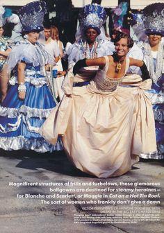 ☆ Christy Turlington | Photography by Arthur Elgort | For Vogue Magazine UK | June 1990 ☆