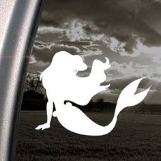 Amazon.com: Disney Decal Little Mermaid Ariel Window Sticker: Arts, Crafts & Sewing