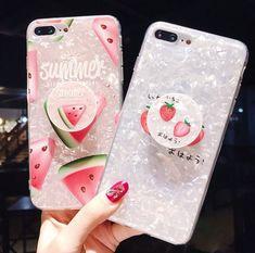 iPhone Cases for Girls Iphone Cases For Girls, Cool Iphone Cases, Cute Phone Cases, Iphone 7 Plus Cases, Iphone Phone Cases, Diy Pop Socket, Kawaii Phone Case, Accessoires Iphone, Silicone Phone Case