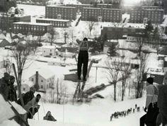 Norwich ski area in the 1960's