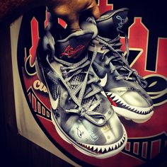 Nike LeBron 9 Wounded Warriors Project by Mache Custom Kicks (7) Lebron 9 cde19d2b8