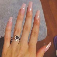 Simple nails, cute nails, pretty nails, different color nails, neutral nail Cute Acrylic Nails, Cute Nails, Pretty Nails, Nail Polish Designs, Nail Art Designs, Different Color Nails, Aycrlic Nails, Pretty Nail Designs, Neutral Nails