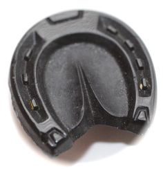 Old Realistic Black Glass Button  Medium by KPHoppe on Etsy