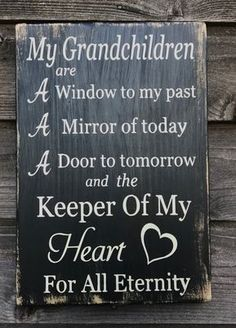 grandparents sign grandchildren sign inspirational gift for grandparents primitive rustic sign gift for grandparents farmhouse sign Love Quotes Rustic Signs, Wood Signs, Great Quotes, Love Quotes, Quotes About Grandchildren, Grandkids Quotes, Grandkids Sign, Affirmations, Grandma Quotes