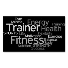 300 best fitness trainer business cards images on pinterest in 2018 personal trainer business card colourmoves