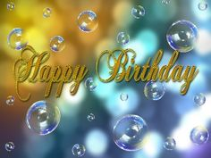 The Most Beautiful Messages of Happy Birthday ✨ 🎁 🍰 🎊 🎉 ✨ Happy Birthday Sms, Birthday Congratulations, Birthday Gifts, Beautiful Birthday Messages, Christmas Bulbs, Balloons, Birthdays, Holiday Decor, Free Pictures