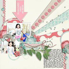 digital scrapbooking by littlea1ien