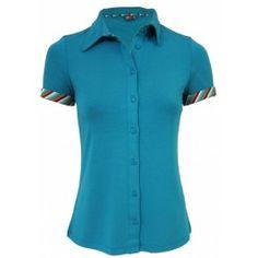 WTG kleedje blouse Salma Petrol