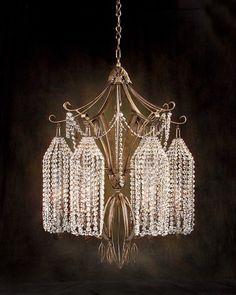 John-Richard Six-Light Chandelier - Chandeliers - Lighting