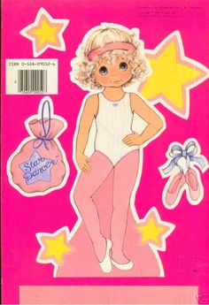 STARDANCER Paper Dolls UNCUT 1984 Paper Dolls - MaryAnn - Picasa Web Albums