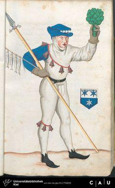 Nürnberger Schembart-Buch Erscheinungsjahr: 16XX  Cod. ms. KB 395  Folio 40