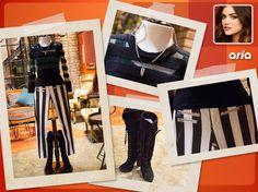 Jeans: Bebe  Sweater: Viva Vena Boots: Charles David