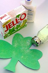 scented shamrocks -  Pinned by @PediaStaff – Please Visit http://ht.ly/63sNt for all our pediatric therapy pins