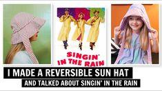 Watch V, Sun Hats, Cinema, Rain, Tutorials, Sewing, Tips, Youtube, Recipes