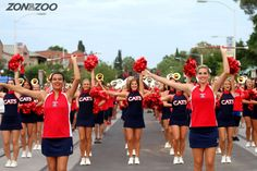 The Pride of Arizona making their way down University Blvd!