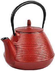 ONLY 16 LEFT IN STOCK (Aug, 2016) SUPERIOR QUALITY: Made of high quality cast iron MAINTAINS TEMPERATURE: Cast iron teapots are meant to distribute the heat evenly and maintain consistant temperatures longer INCLUDES: Teapot and Stainless steel tea infuser DURABLE & EASY CLEAN: Well made, and easy clean SIZE: Holds 67 Ounces of liquid.