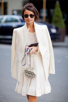 miroslava duma in white