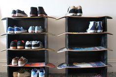 Customised Skateboard Shelves