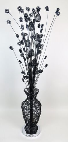 Httpwirelampswlt2025 5redml height 90cm width 25cm httpwirelampswlt2025 5redml height 90cm width 25cm depth 25cm black ceramic vase wire lamp vase featured styled hole design to greentooth Choice Image