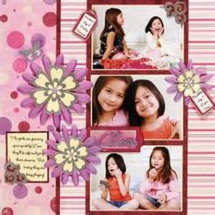 scrapbooking layouts ideas for girls - Yahoo! Image Search Results