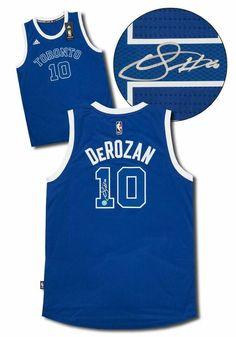 e7b507b6 Demar DeRozan Toronto Huskies Signed Raptors Retro Adidas® NBA Swingman  Jersey #TorontoRaptors