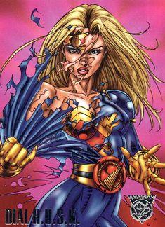 "Dial H.U.S.K. ""X-Patrol"" Amalgam Comics"