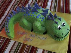Stegasaurus cake