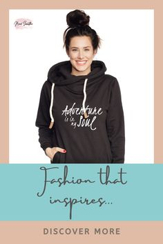 We create fashion and accessories for women and girls who love to be empowered to live life to the fullest and by their own rules! Positive Mindset, Positive Attitude, Smoothie Shop, Hoodies, Sweatshirts, Women Empowerment, Live Life, Women Wear, Mindfulness