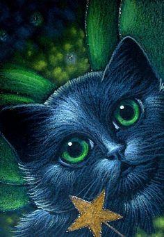 Black Fairy Cat - Cyra R. Cancel
