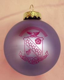 Your Sorority Greek Crest Holiday Ball Ornament NEW | eBay