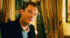 Best Movie Moment in the Holiday...When Jude Law sees Cameron Diaz Character in Bar