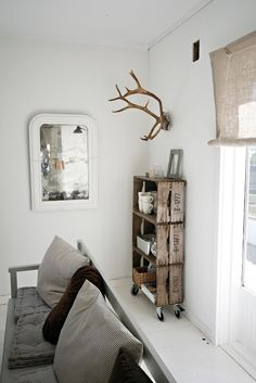 Vintage Crate Bookcase   Norwegian interiors blogs