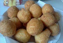 Καταπληκτικά τυρομπαλάκια – Το τέλειο ορεκτικό! Potatoes, Vegetables, Food, Potato, Essen, Vegetable Recipes, Meals, Yemek, Veggies